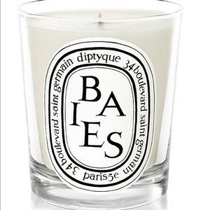 BAIES DIPTYQUE MINI CANDLE AND DUSTBAG